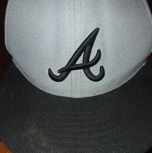 .Angles black and grey 59Fifty flatbill